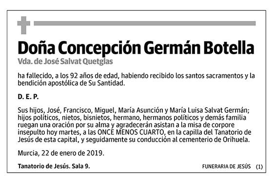 Concepción Germán Botella