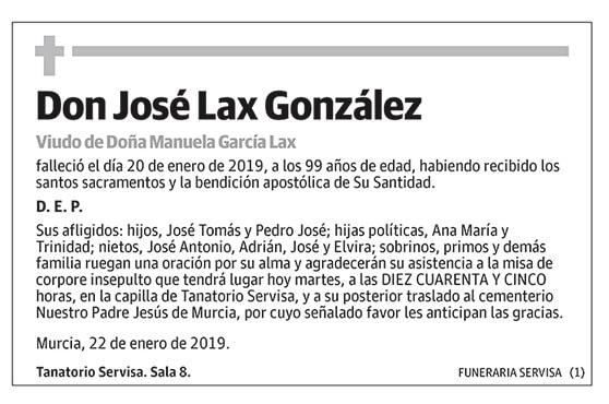 José Lax González