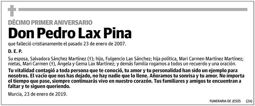 Pedro Lax Pina