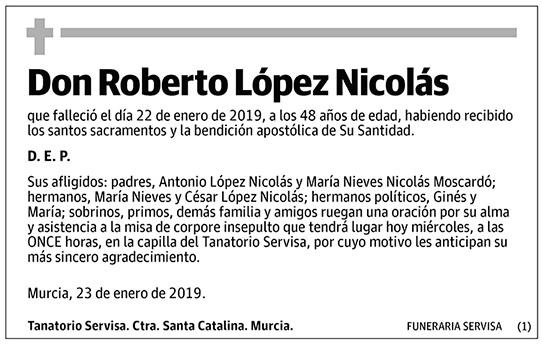 Roberto López Nicolás