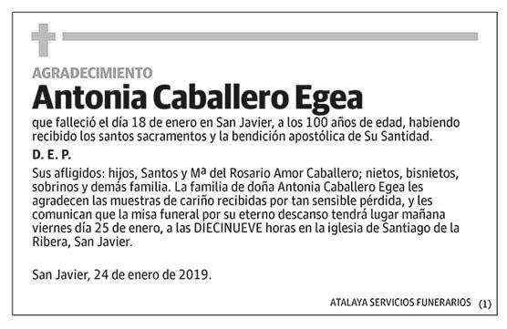 Antonia Caballero Egea