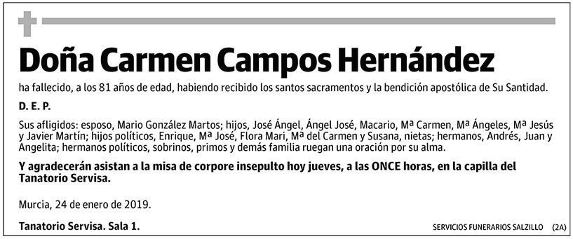 Carmen Campos Hernández