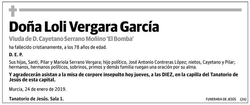 Loli Vergara García