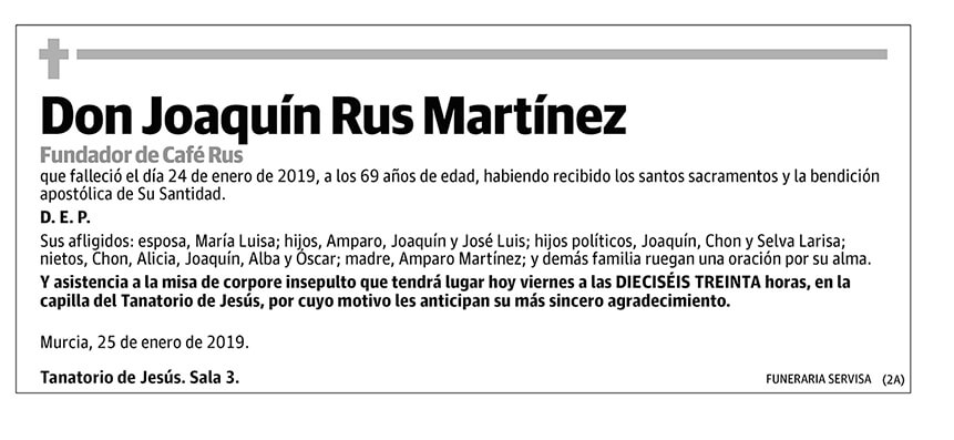 Joaquín Rus Martínez