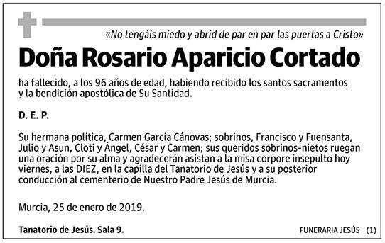 Rosario Aparicio Cortado