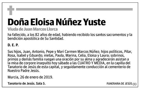 Eloisa Núñez Yuste