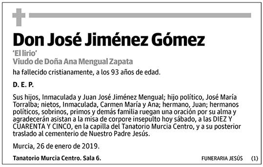 José Jiménez Gómez