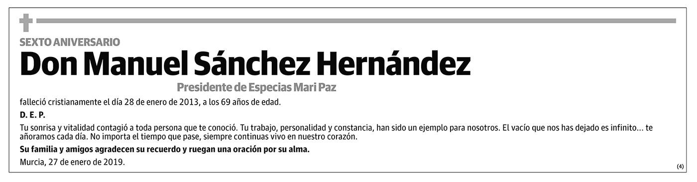 Manuel Sánchez Hernández
