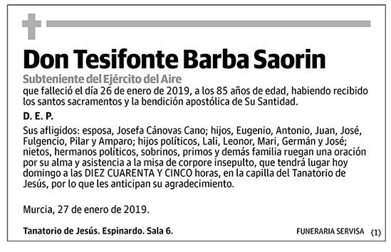 Tesifonte Barba Saorin