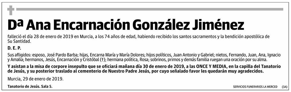 Ana Encarnación González Jiménez
