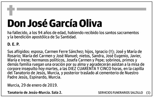 José García Oliva