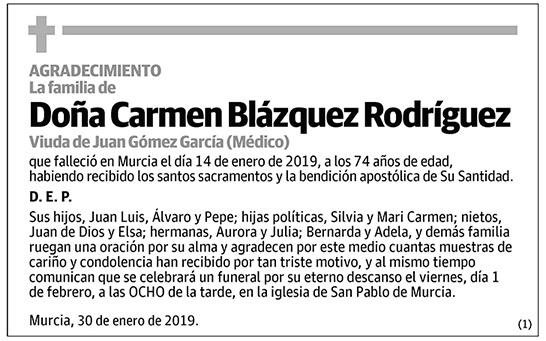 Carmen Blázquez Rodríguez