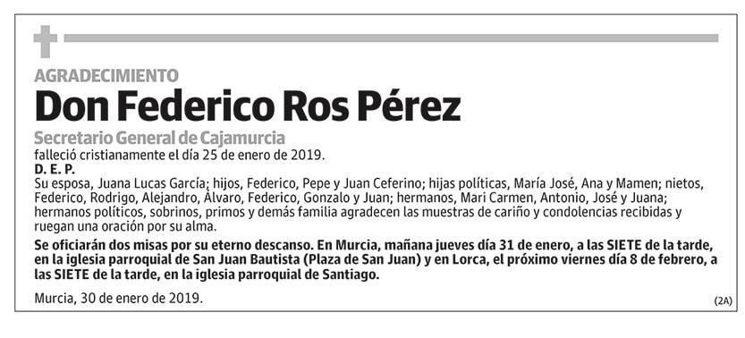 Ferderico Ros Pérez
