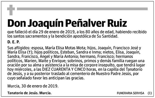 Joaquín Peñalver Ruiz