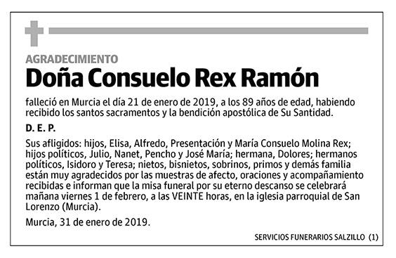 Consuelo Rex Ramón