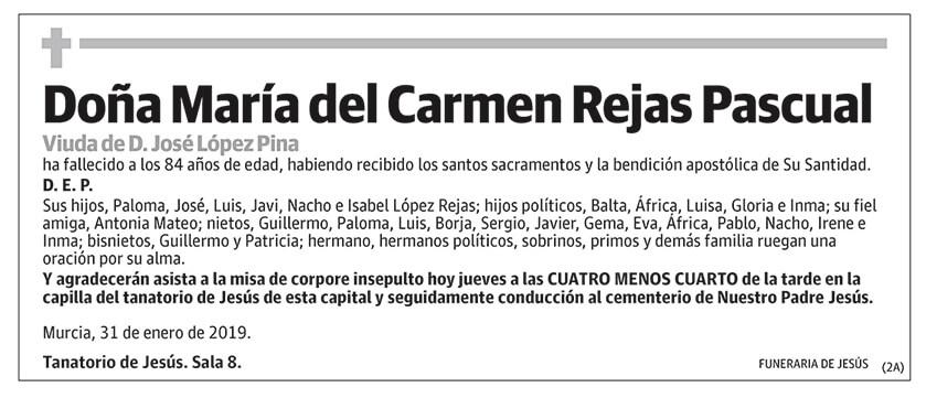 María del Carmen Rejas Pascual