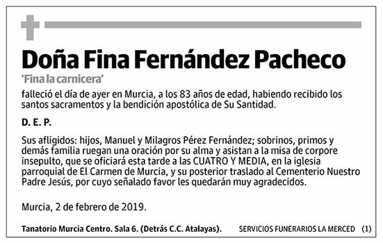 Fina Fernández Pacheco