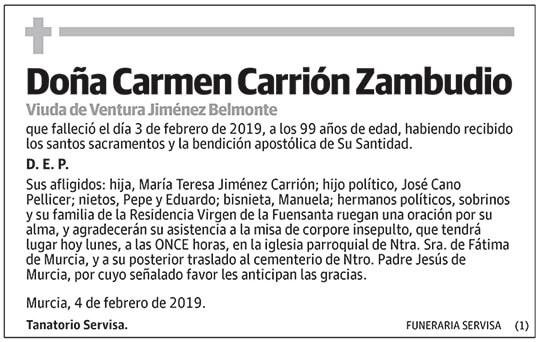 Carmen Carrión Zambudio