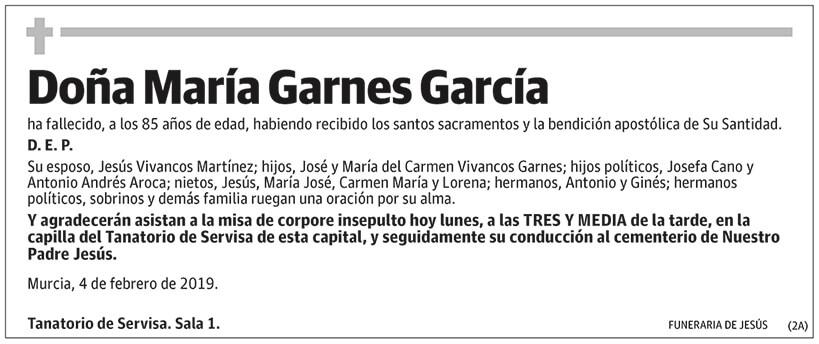 María Garnes García