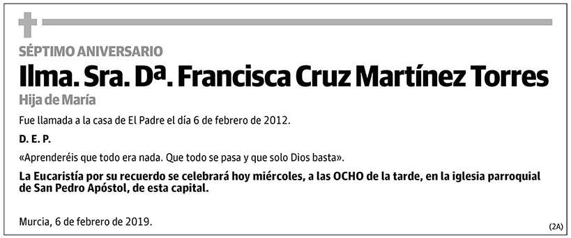 Francisca Cruz Martínez Torres