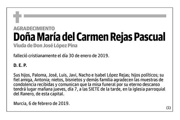 María del Carmen Rajas Pascual