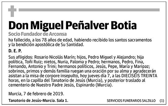Miguel Peñalver Botia