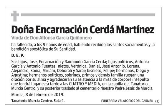 Encarnación Cerdá Martínez