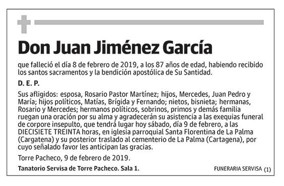 Juan Jiménez García