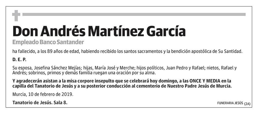 Andrés Martínez García