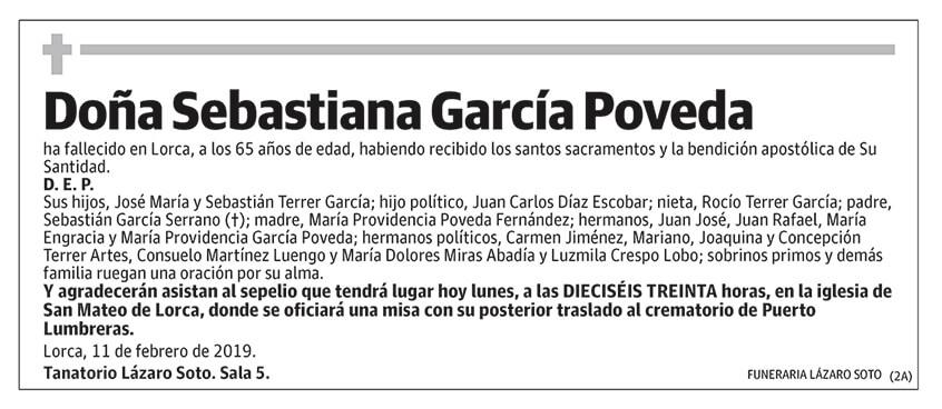 Sebastiana García Poveda