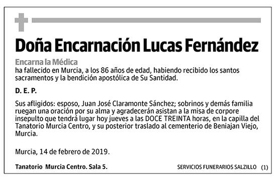 Encarnación Lucas Fernández