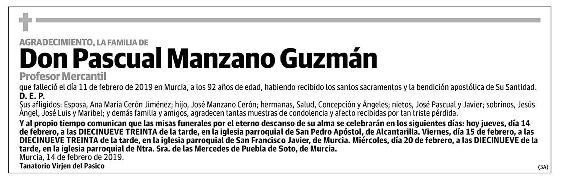 Pascual Manzano Guzmán