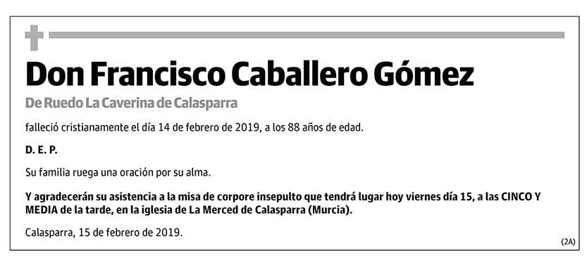 Francisco Caballero Gómez