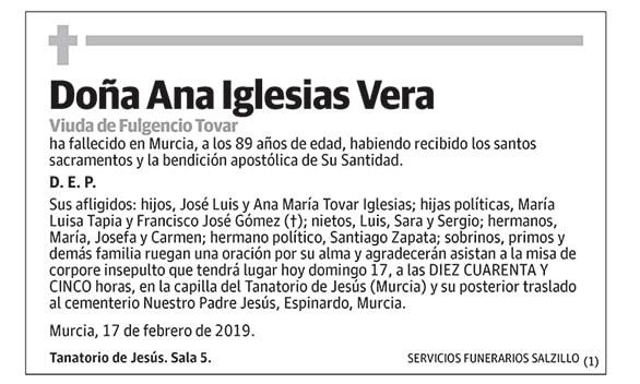 Ana Iglesias Vera