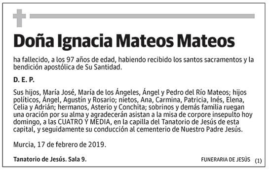 Ignacia Mateos Mateos
