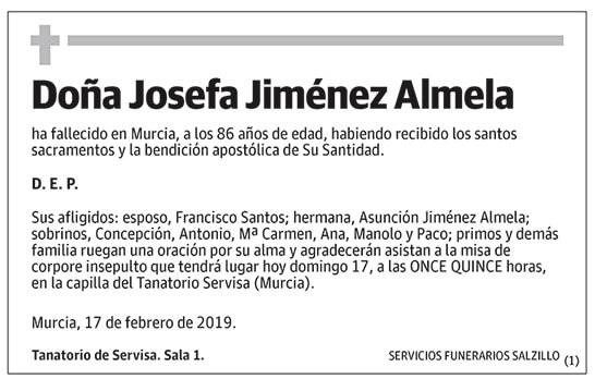 Josefa Jiménez Almela