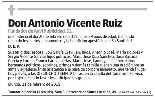 Antonio Vicente Ruiz