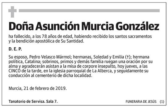 Asunción Murcia González