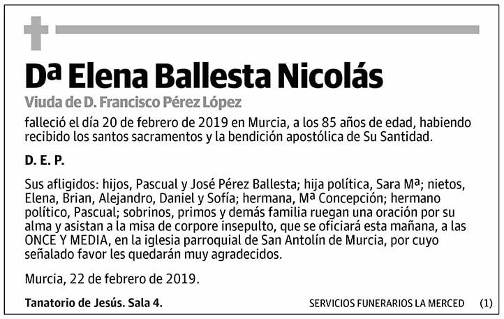 Elena Ballesta Nicolás