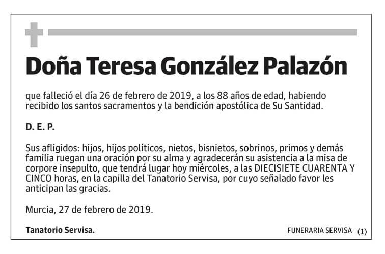 Teresa González Palazón