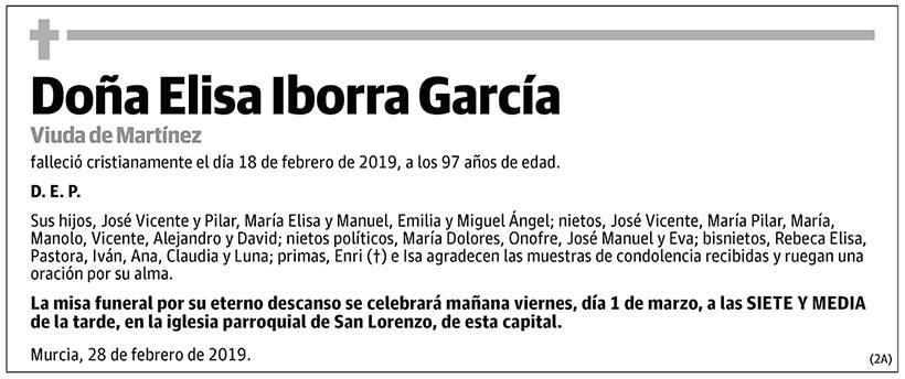 Elisa Iborra García