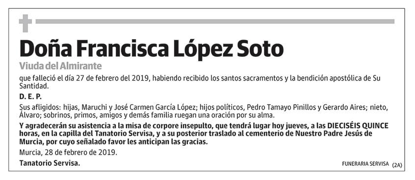 Francisca López Soto