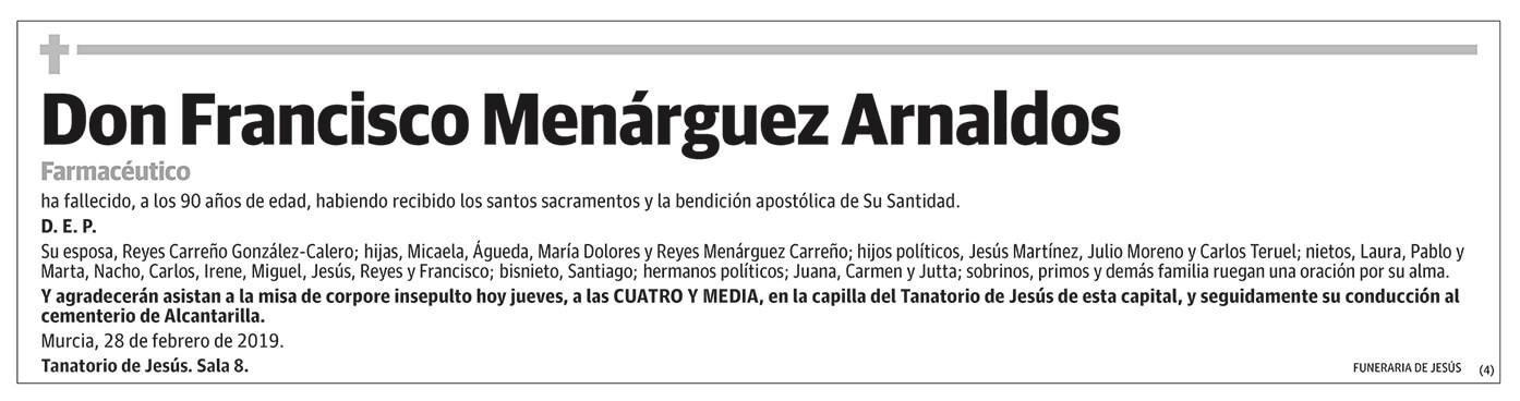 Francisco Menárguez Arnaldos