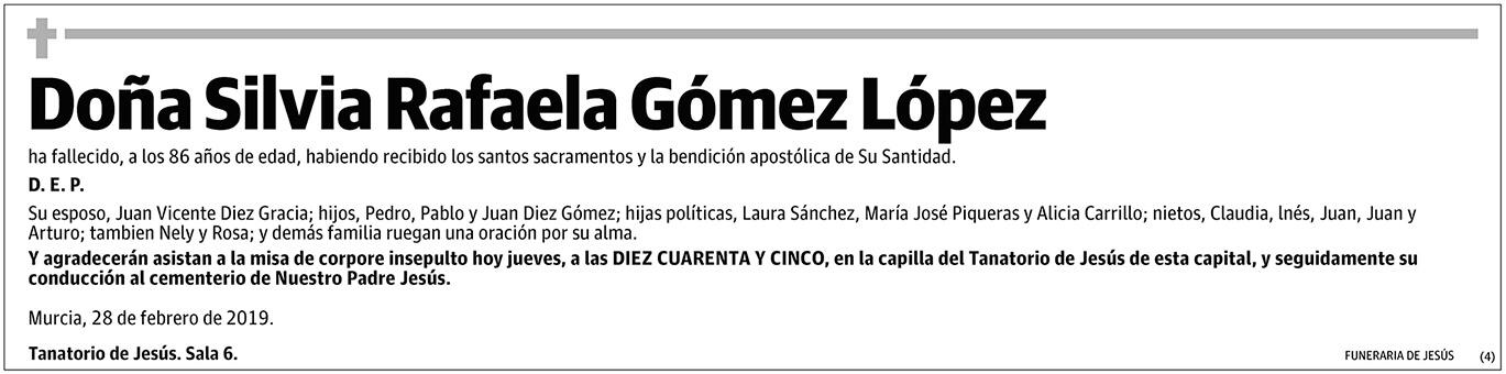 Silvia Rafaela Góme López