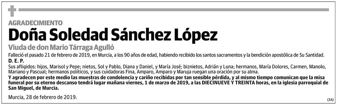 Soledad Sánchez López
