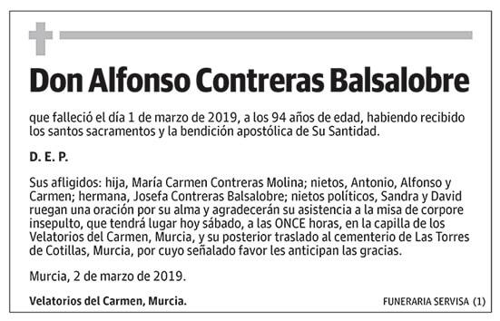 Alfonso Contreras Balsalobre