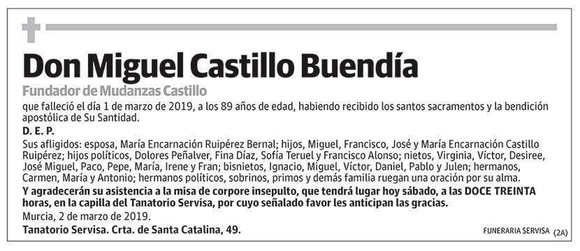 Miguel Castillo Buendía