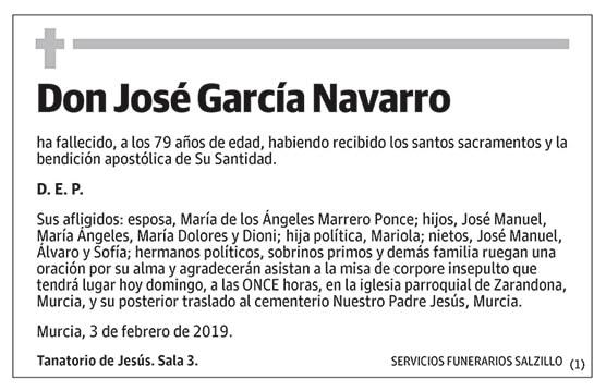 José García Navarro