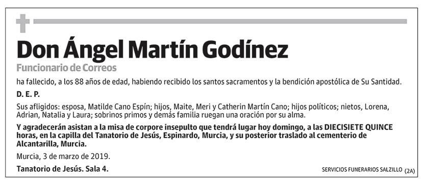 Ángel Martín Godínez
