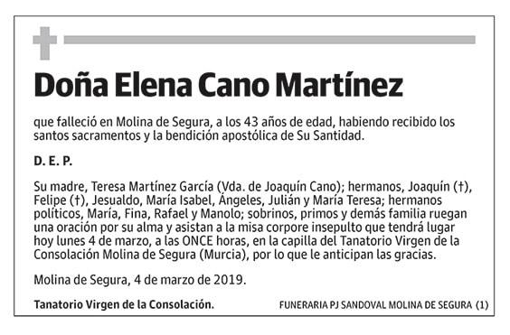 Elena Cano Martínez